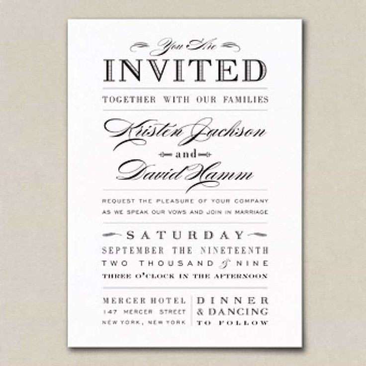 The 25+ best Create wedding invitations ideas on Pinterest ...