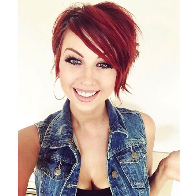 Short Red Hairstyles new short red hairstyles Hmmm I Wonder If I Could Pull Off Red