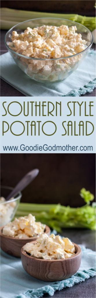Southern Style Potato Salad - A summer picnic classic, this easy salad is loaded with flavor. | The Goodie Godmother