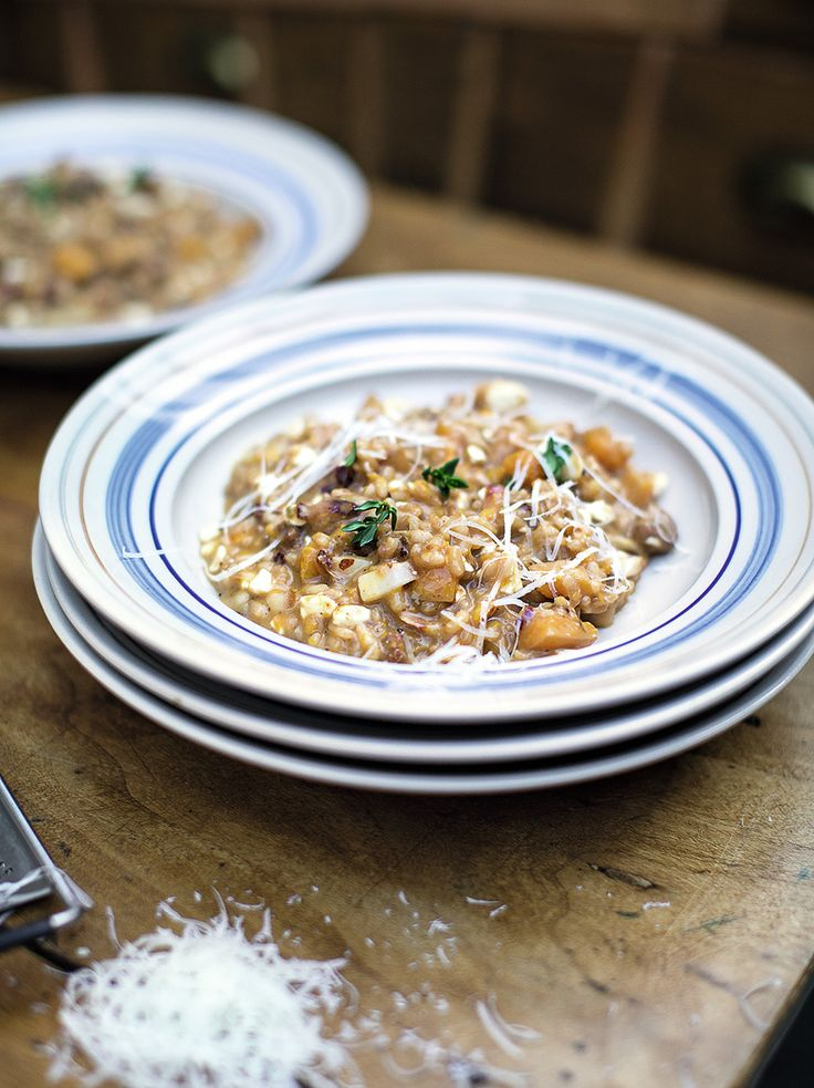 Squash & Sausage Risotto | Jamie Oliver | Family Super Food