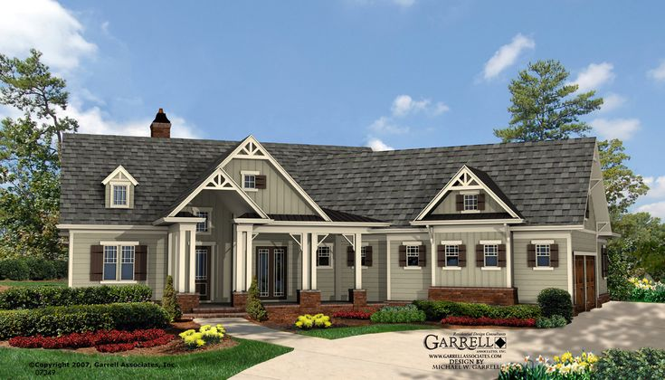 English Tudor Ranch House Plans Design