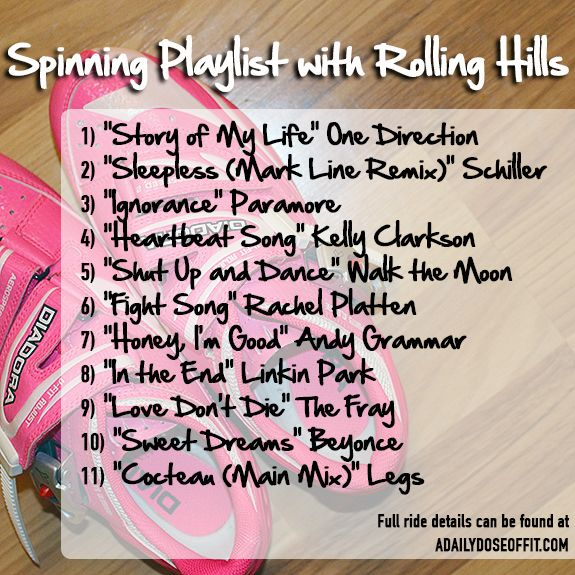 Spinning Playlist with Rolling Hills / A Daily Dose of Fit ...