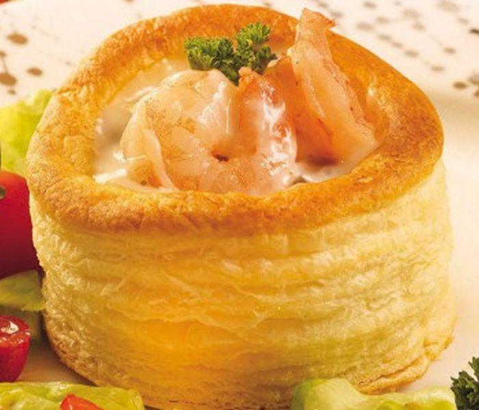 Bouchées aux crevettes facile avec thermomix