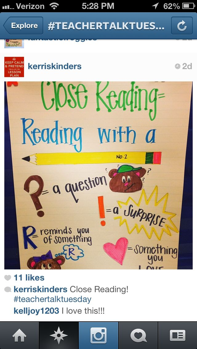 Close reading for little ones
