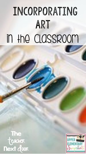 Great posts for ways to add art to your classroom, even in a testing era!