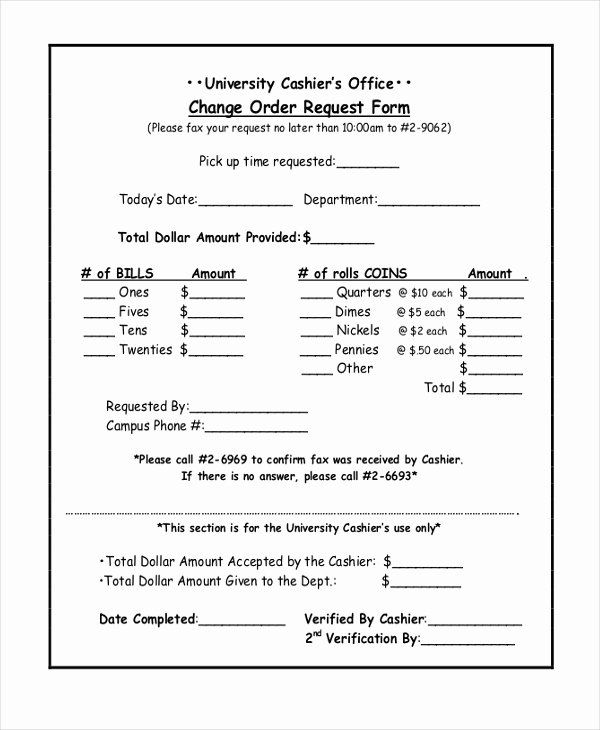 Order Request Form Elegant Sample Change Order Request Forms 8 Free Documents In Sample Resume Form Request