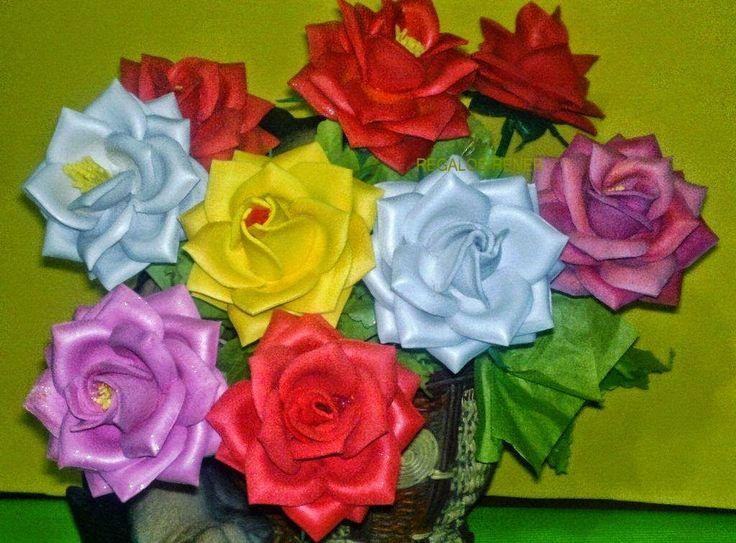 FTP - O Artesanato que Você Pode Fazer!: Lindas Rosas Feitas de EVA