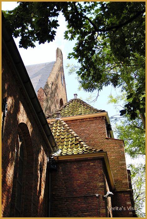 View on Museum prinsenhof Delft