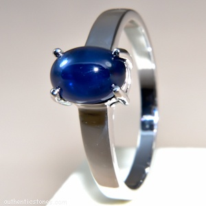 925 Sterling Silver Jewellery  Blue Sapphire Silver Ring    shopping.ebizz@gmail.com