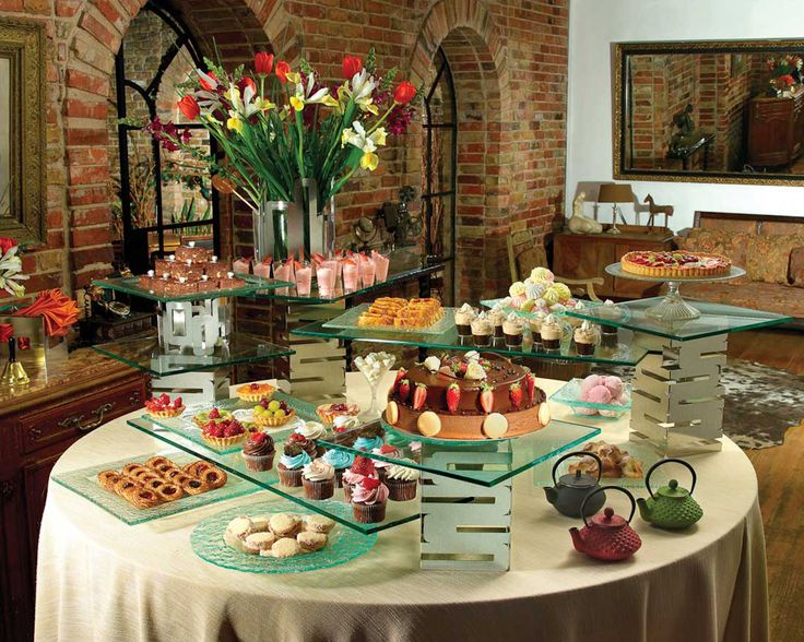 Receptions Food Displays And Prime Time On Pinterest: Riser Systems For The Ultimate Buffet Displays