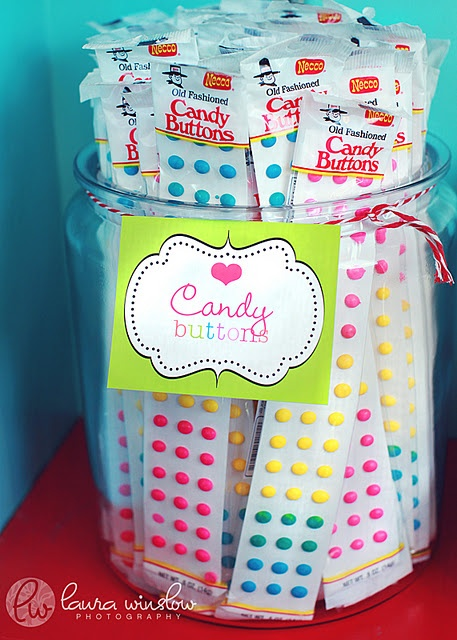 Lollipop theme-printables for this party too