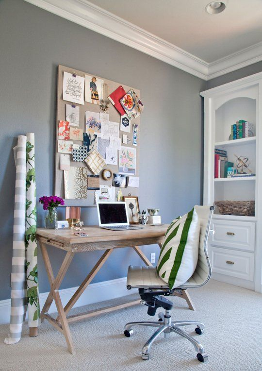 Shea's Stylish Happy Home Office — Office Tour