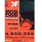 Digital Food Photography Competition (Deadline: 25 Oktober 2015)
