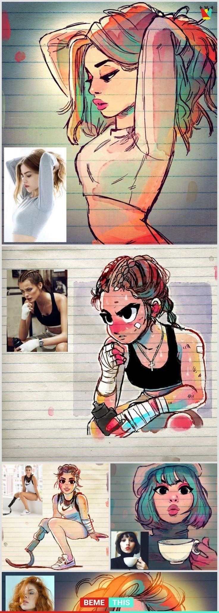 Künstler verwandelt Menschen in Cartoons und sie werden Sie umhauen – bemethis