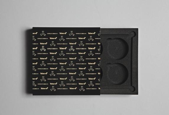 Promotional packaging for Snus  #nirvanacph