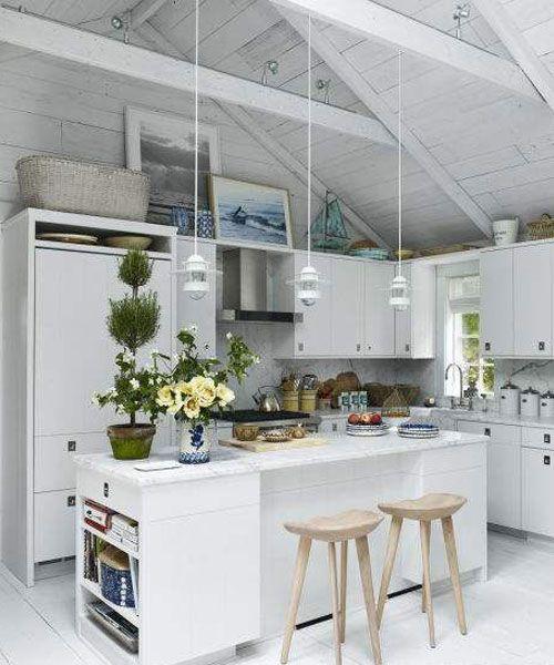 Ονειρεμένες λευκές κουζίνες! Διακόσμησε την κουζίνα σου με λευκό και κάνε τον πιον δημιουργικό χώρο του σπιτιού σου απλά μαγευτικό!