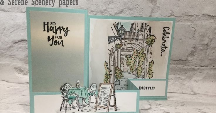 Mediterranean Moments Double Z Fold Card by Amanda Bates at The Craft Spa. Shop Stampin' Up! UK Online.