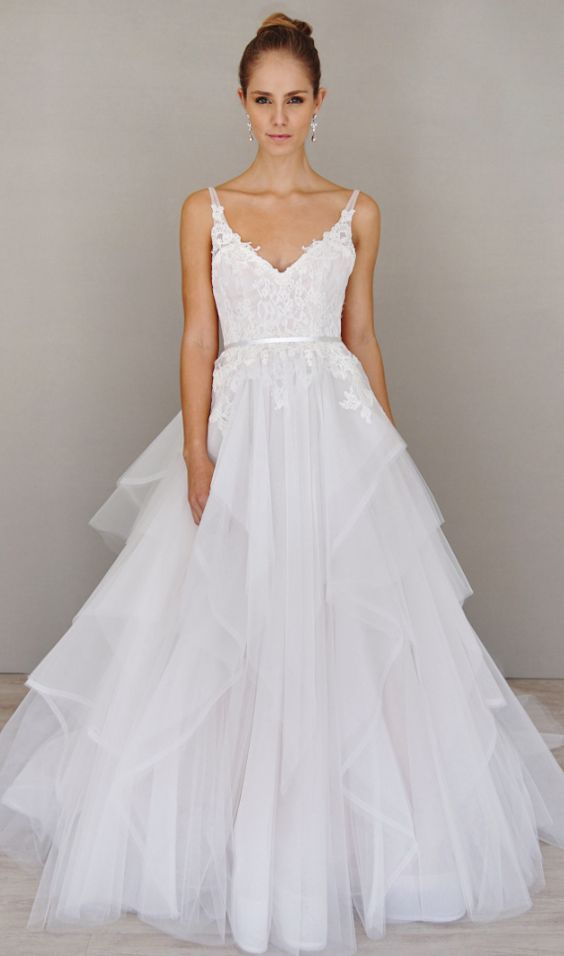 Wedding Dresses With Tulle : Best ideas about tulle wedding dresses on