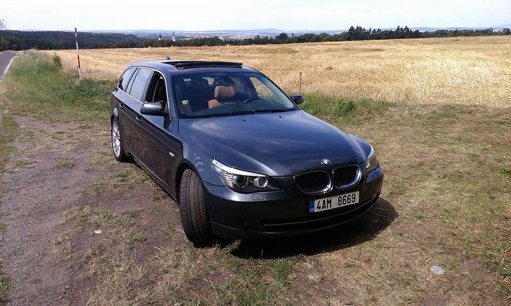 Ondřej Černý nám poslal fotku svého v pořádí už třetího BMW -  525xd (E61). Děkujeme za věrnost! #BMWstories