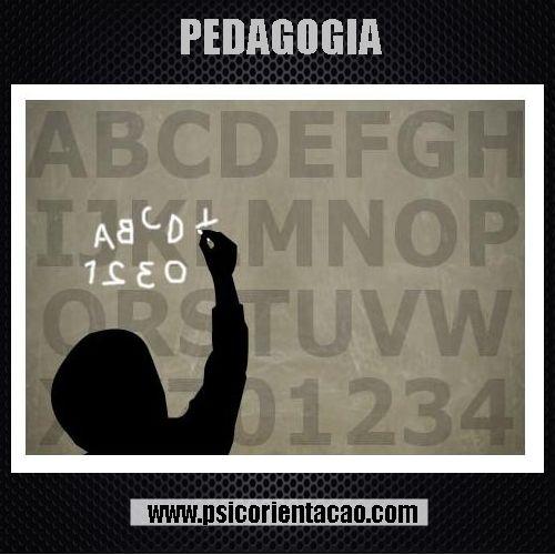 PEDAGOGIA – Teoria e métodos de ensino, atuação em temas educacionais.     Atuação: Administração escolar, ensino, educação especial, orientação educacional, pedagogia empresarial, pedagogia hospitalar, supervisão educacional