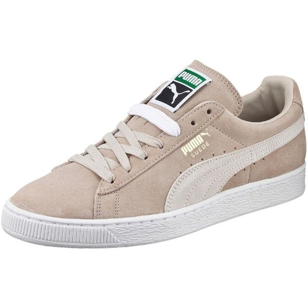 Puma Suede Classic + Men's Sneakers ($65) ❤ liked on Polyvore featuring men's fashion, men's shoes, men's sneakers, mens suede sneakers, mens sports shoes, mens metallic shoes, mens lace up shoes and mens sport shoes