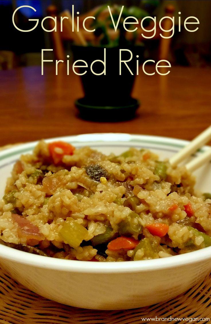 baby girl coats Garlic Veg Fried Rice Recipe Fried Rice Rice and Garlic