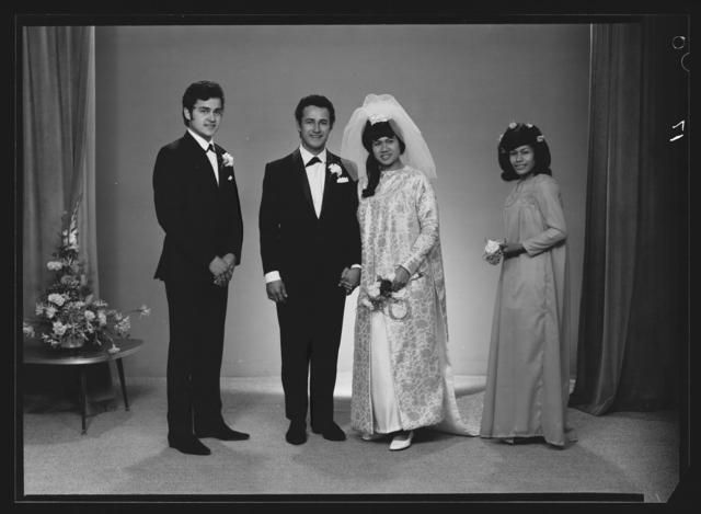 Object: Rasmussen - Stanley wedding, the bridal party | Collections Online - Museum of New Zealand Te Papa Tongarewa