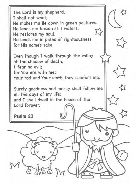 lovely the lord is my shepherd coloring page part 7 lord is my shepherd