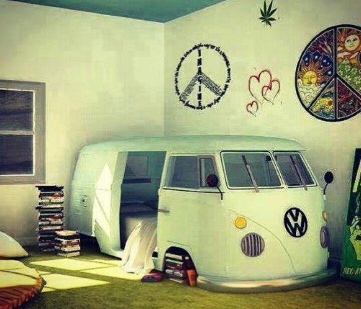 Cute hipster bedroom ♡