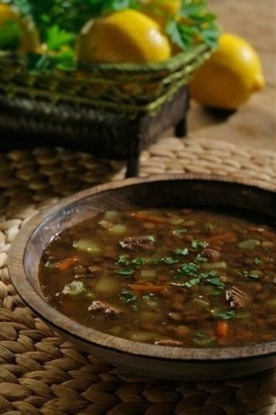 Пряный чечевичный суп