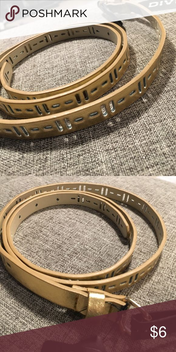 H&M - Gold Metallic Belt. H&M - Gold Metallic Belt. Adjustable belt, new with tags. H&M Accessories Belts