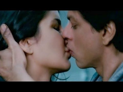 Image result for shahrukh khan kissing scene