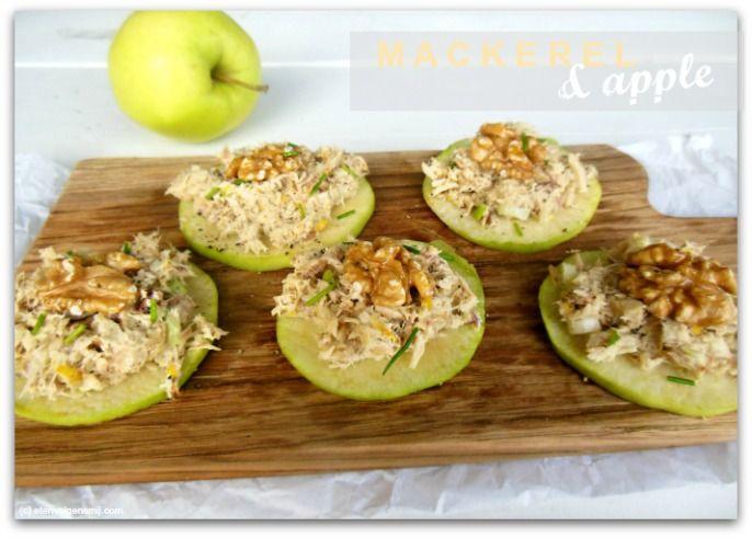 Makreelsalade met appel | mackerel salad with Apple www.etenvolgensmij.com