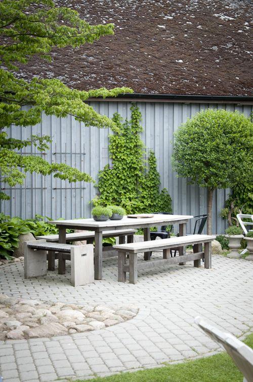 Hemlängtan: Trädgård