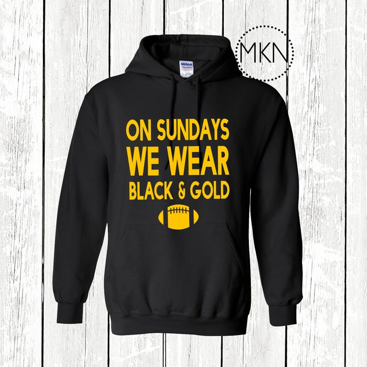Do you love your Pittsburgh Steelers? We do too! This hoodie is perfect for your next Steelers party or tailgate! Buy them as a group and wear them with all your friends! This hoodie is made of cotton