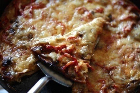 Фото к рецепту: Пицца по-русски