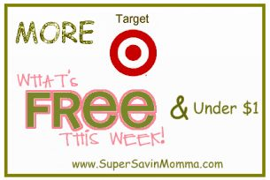 TARGET DEALS $$ More What's FREE & Under $1 This Week? (9/2 – 9/8)!