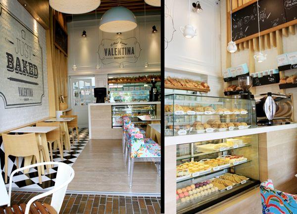 Valentina Bakery / Interior Design By Masif, Via Behance