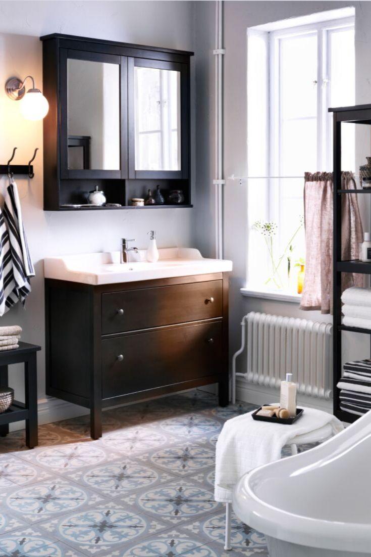 IKEA Bad, IKEA Badezimmer, Badmöbel, Waschtisch, Waschbecken Unterschrank, Spiegelschrank, Regal ...