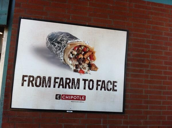 "Stephen Zavestoski on Twitter: """"Farm to Face"" #chipotle ad, co ..."
