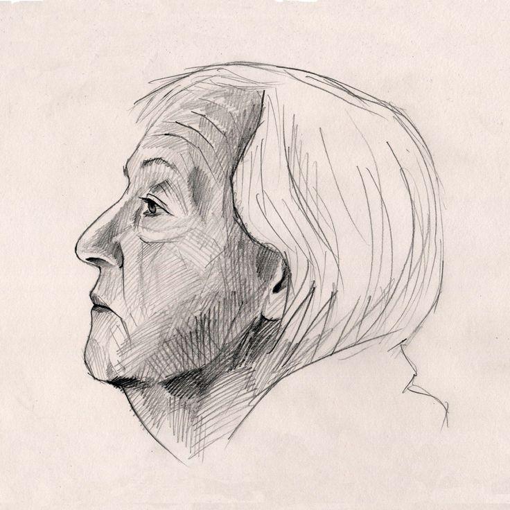 Pencil study Drawing by Edmund Ward
