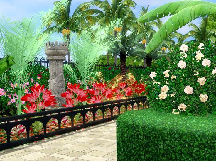 125 best Sims3 4 House Garden Ideas images on Pinterest