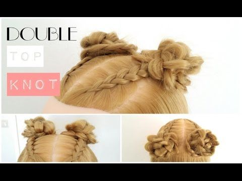 Double Top Knot - La creme