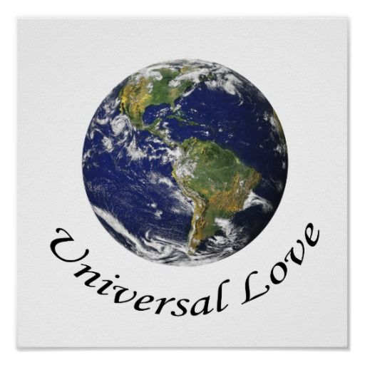 Universal Love on Earth poster