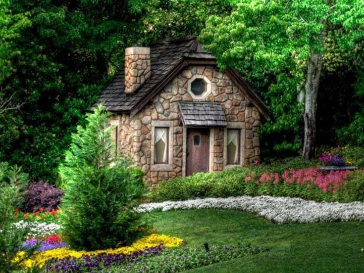 Rock cottage my style of homes pinterest cottages for Cost to build a house in little rock