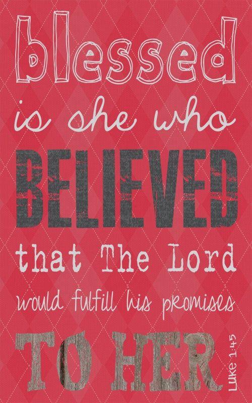 Él siempre cumple sus promesas!! Gracias Señor!!