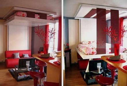 Ceiling bed | I New Idea Homepage