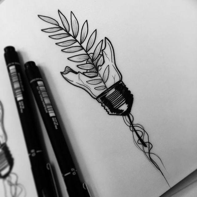 Картинки для срисовки в скетчбук перья