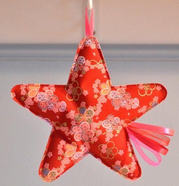 17 meilleures images propos de etoiles sur pinterest Tuto decoration de noel en tissus