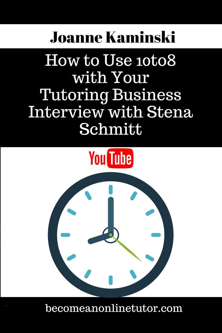 Act Tutor How To Use 10to8 With Your Tutoring Business Check Out This